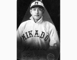 John S. Ikeda, Mikado baseball player, Seattle, 1911
