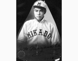 Motomi Miyasaka, Mikado baseball player, Seattle, 1911