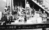 Pirates Baseball Team visiting Petersburg, August 21, 1925