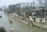 Canals in Suzhou, China, April 1982