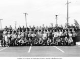 Isaacson Iron Works machine shop day shift crew, Seattle, June 26, 1945