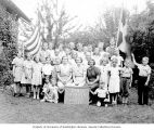 Danish-American Summer School students and staff, probably Seattle, 1937