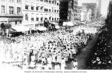 Preparedness Parade along 2nd Ave., Seattle, June 10, 1916