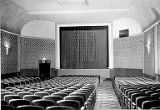 Broadway Theatre auditorium facing the projection screen shown after renovation, 1948