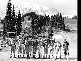 Hiking party, Mount Rainier National Park, n.d.