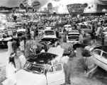 Crowds at Seattle Auto Show, Seattle Auto Show, March, 1953