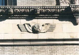 Art deco WAC emblem with wings, Washington Athletic Club, Seattle, circa 1990s