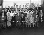 City Treasurer's Office staff, Seattle, December 1952