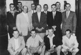 Group photo with Harold Oaths and others, circa 1960s