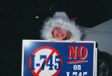 "Amalgamated Transit Union, Local 587 ""No on I-745"" campaign 2000"
