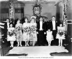 Japanese wedding party, Seattle, ca. 1930