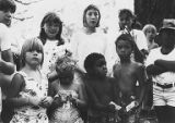 Group of children at a Amalgamated Transit Union, Local 587 Picnic, August 2, 1986