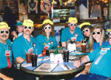 Delegates at a restaurant during the UFCW International Convention in Toronto, Ontario, Canada,...