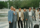 Fred Korematsu, Harry Ueno, Gordon Hirabayashi, George Ikeda, and William Hohri on United States...