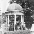 Resting place of Andrew and Rachel Jackson, located in the Hermitage garden, circa 1908-1915