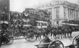 Parade for Woodrow Wilson's first inauguration, R.S. Morgan album, March 4, 1913