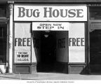 Exhibit entitled Bug House for the Anti-Tuberculosis League of Pierce County,  n.d.