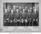 Committee of Fifteen in charge of organizing the expulsion of the Chinese, Tacoma, Washington, ca....