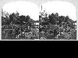 Crowd and bathers at at Alki beach, West Seattle, n.d.