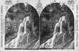 Crystal Cascade at Cascade Creek, Yellowstone National Park, Wyoming, ca. 1880-1885