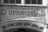 "Inscription above McCarver School North Entrance: ""Veracity"" (2008)"