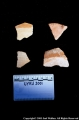 4 sherds from temple (?) area