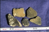 Five sherds