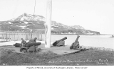 Battery of old Russian guns, Unalaska, ca. 1911