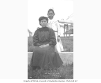 Teacher and girl at Jessie Lee Home, Unalaska, ca. 1911