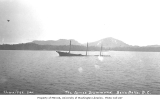 Wreck of the sailing barge JAMES DRUMMOND, near Bella Bella, Milbanke Sound, British Columbia, 1914