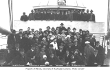 Rescued MARIPOSA passengers aboard the freight steamer DISPATCH, Fitz Hugh Sound, British...