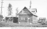 Early log homes of Anchorage, ca. 1916