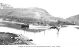 Dock facilities, Unalaska, ca. 1912