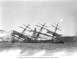 Wreck of the salmon cannery ship JABEZ HOWES, Chignik, 1911