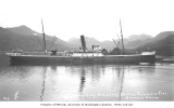 Steamer RUPERT CITY, unloading British Columbia coal, Unalaska, ca. 1911