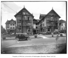 Gables Apartment building exterior, Central Neighborhood, Seattle, ca. 1917