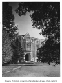 Education Hall exterior, northwest entrance viewed from the Liberal Arts Quadrangle, University of...
