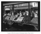 Pike Place Public Market vegetable vendors, Seattle, May 19, 1917