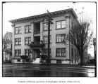 Bancroft Apartments exterior, Capitol Hill neighborhood, Seattle, n.d.