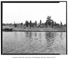 Golf Course at the University of Washington seen across Portage Bay, Seattle, n.d.