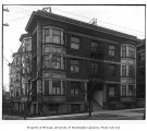 Elinore Apartments exterior, Central Neighborhood, Seattle, ca. 1917