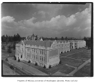 Philosophy Hall, Commerce Hall, Denny Hall and the Home Economics Building, viewed from the south,...