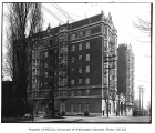 Perry Apartments exterior, Seattle, ca. 1917