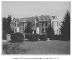 Home Economics Building exterior viewed from the west, University of Washington, Seattle, n.d.