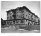 Carlyle Apartments exterior, Capitol Hill neighborhood, Seattle, June 26, 1917