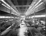 Curtiss Aeroplane and Motor Company assembly floor, circa 1917-1919