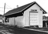 Northern Pacific railroad station, Bothell, 1973