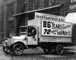 George B. Carpenter and Co. truck, Chicago, n.d.