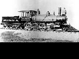 Seattle, Lake Shore and Eastern Railway locomotive, ca. 1886-1892