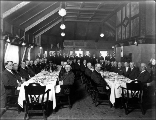 Anniversary dinner given by the Northern Pacific Railroad staff officers from the South Tacoma...
